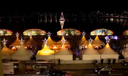 """Weihnachtsmarkt """"Weißerzauber auf dem Jungfernstieg"""""""