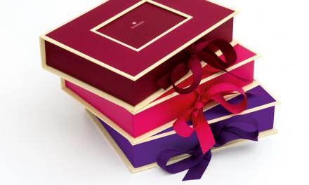 Geschenk für Sie: Fotobox mit Einschubfenster