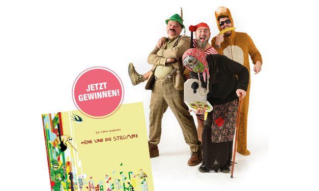 Gewinne 3×1 CD – Kinderlieder modern verpackt.