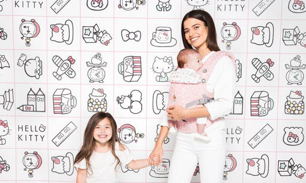 Gewinnt 1×1 Babytrage von Ergobaby Omni 360 im Hello Kitty Design in Rosa