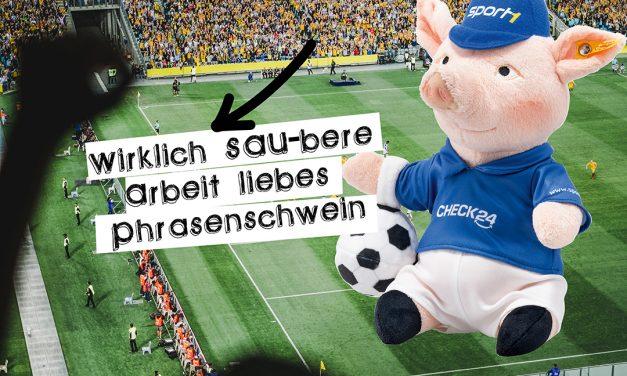 Gewinne 3×1 Phrasenschwein von Steiff zum WM-Start
