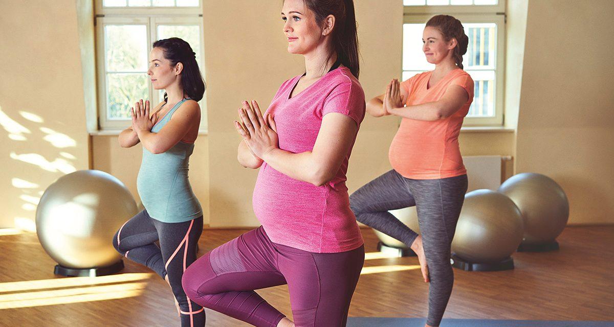Mit Babybauch und Baby aktiv und gesund