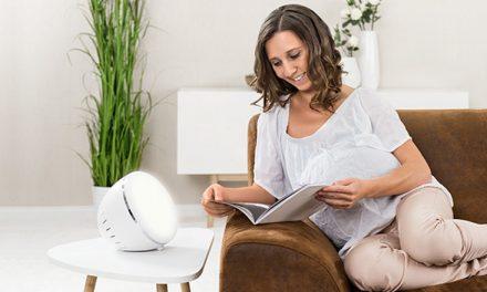 Gewinne: MommyLine Wohlfühllampe mit Tages- und Stimmungslicht von reer