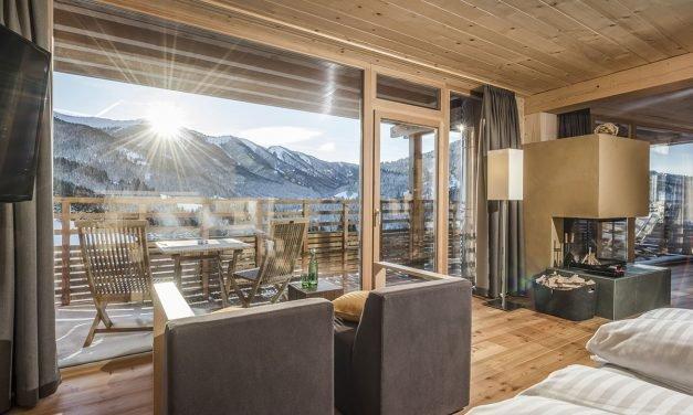 Holzhotel Forsthofalm: ein Traum für zwei