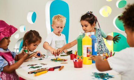 Vorschulprogramm in der Kita kinderzimmer