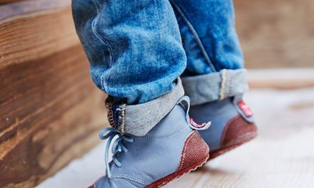 Kinder Lauflernschuhe: Aus vegetabil gegerbtem Leder und frei von Schadstoffen