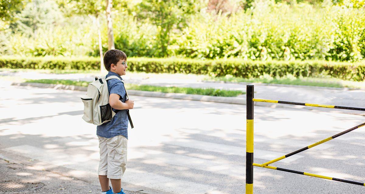 Wie Kinder sicher zur Schule kommen