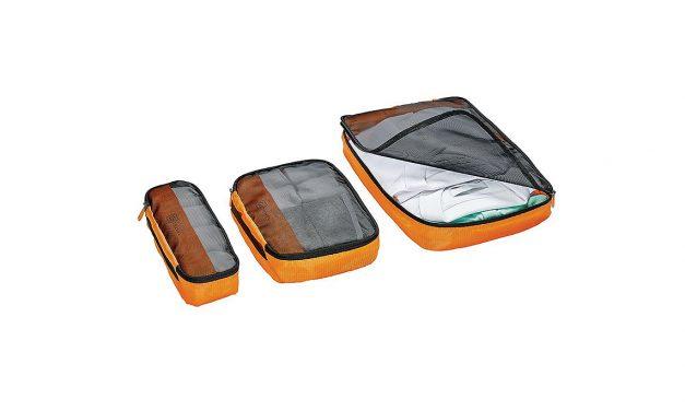 GEWINNE 3 x 1 dreiteiliges Packwürfel-Set von Go Travel