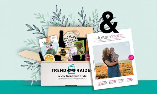 Hosenmatz kooperiert mit den nachhaltigen Überraschungs-Boxen von TrendRaider