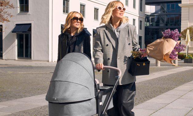 DiesenKinderwagen nutztInstagram Ikone Viky Rader: Joolz goes Fashion.