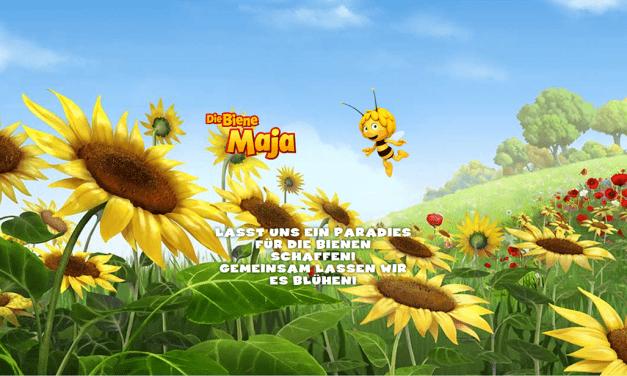 Die Biene Maja unterstützt den NABU-Insektensommer