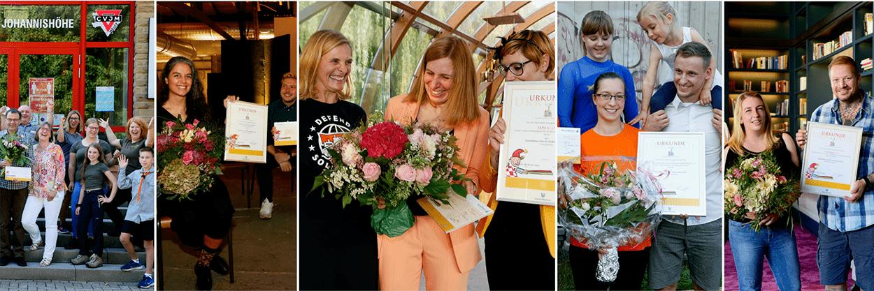 Unterwegs in geheimer Mission: 40 Jahre HanseMerkur Preis für Kinderschutz